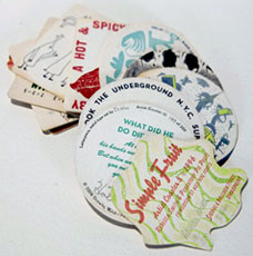 Artist Coasters book